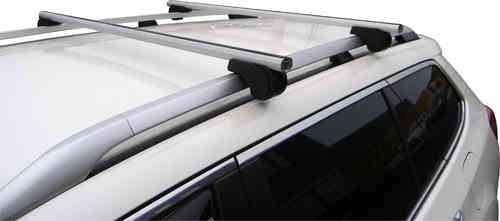 Dakdragers Skoda Superb SW 2009-2015 Open railing