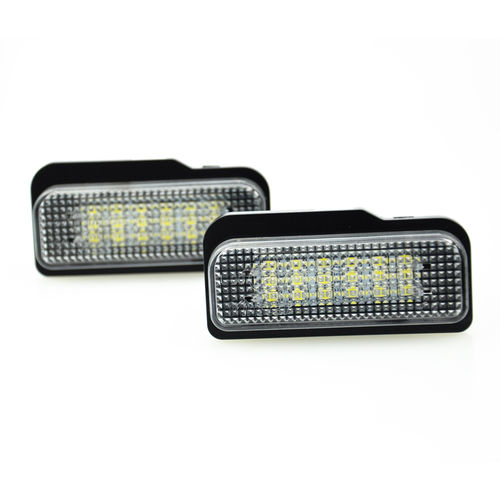 Pasklare LED nummerplaat verlichting - Mercedes-Benz diversen - Version 4