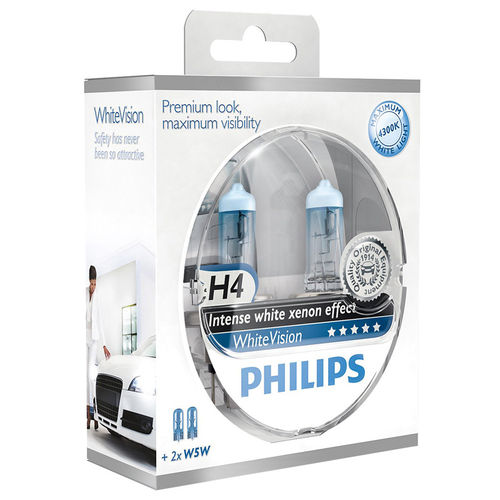 Philips Whitevision H4 55W/12V