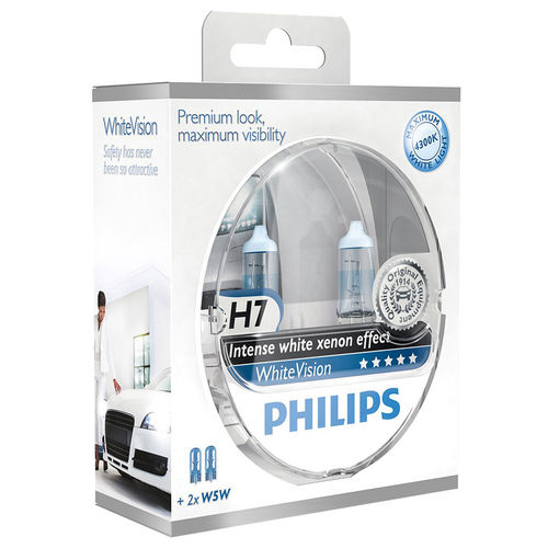 Philips Whitevision H7 55W/12V