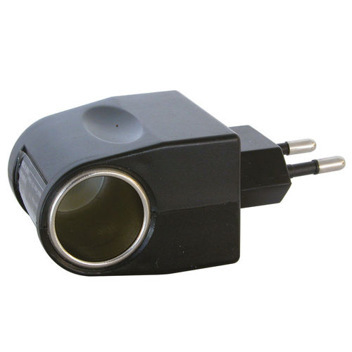 Adapter 230 volt 12 volt auto