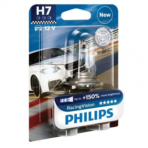 Philips Racing Vision H7 - set à 2 stuks