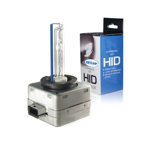 HID-Xenon lamp D3S 5000K 25% UP + E-Keur, 1 stuk