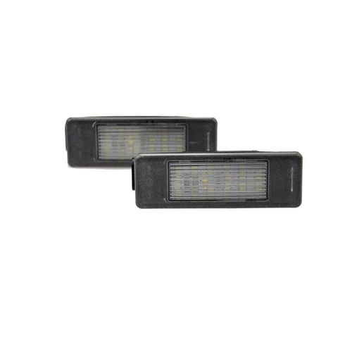 Pasklare nummerplaat LED verlichting Citroën/Peugeot diversen - Version 2