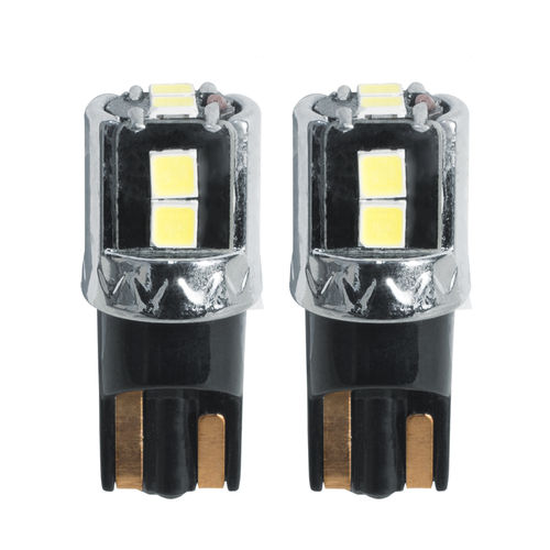 Simoni Racing T10 6-LED Lampen 'Canbus No-Polarity' - High Brightness Superwhite