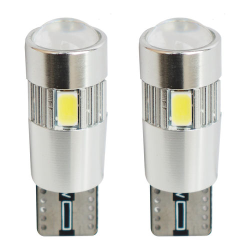 Simoni Racing T10 6-LED 2,3W Canbus Lampen - Superwhite