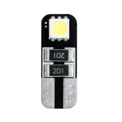 Simoni Racing T10 2-LED 3W Canbus Lampen - Superwhite