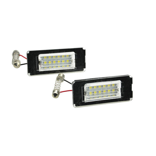 Pasklare LED nummerplaat verlichting - Mini One/Cooper R56/R57/R58/R59 2006-2014